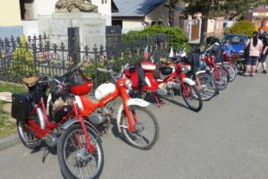 Moped team Praskolesy